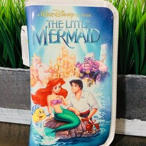 The Little Mermaid VHS Clutch